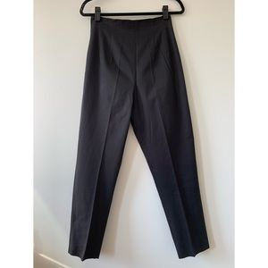 Vintage High Waisted Cotton Pants